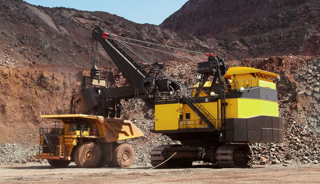 Shovel and haul truck TORSA